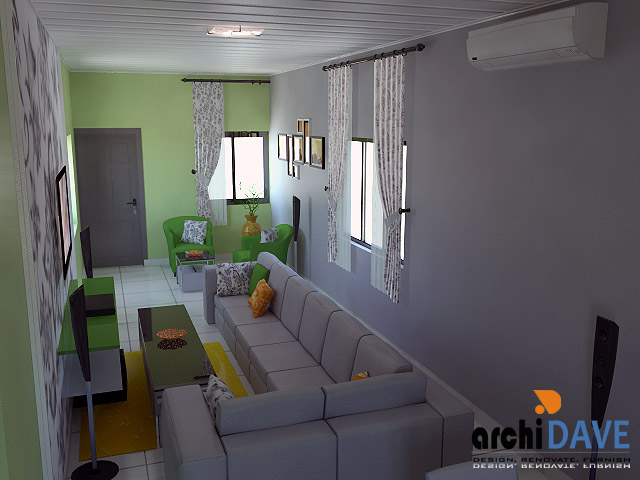 Interior design furniture complete home office for Interior decoration nigeria