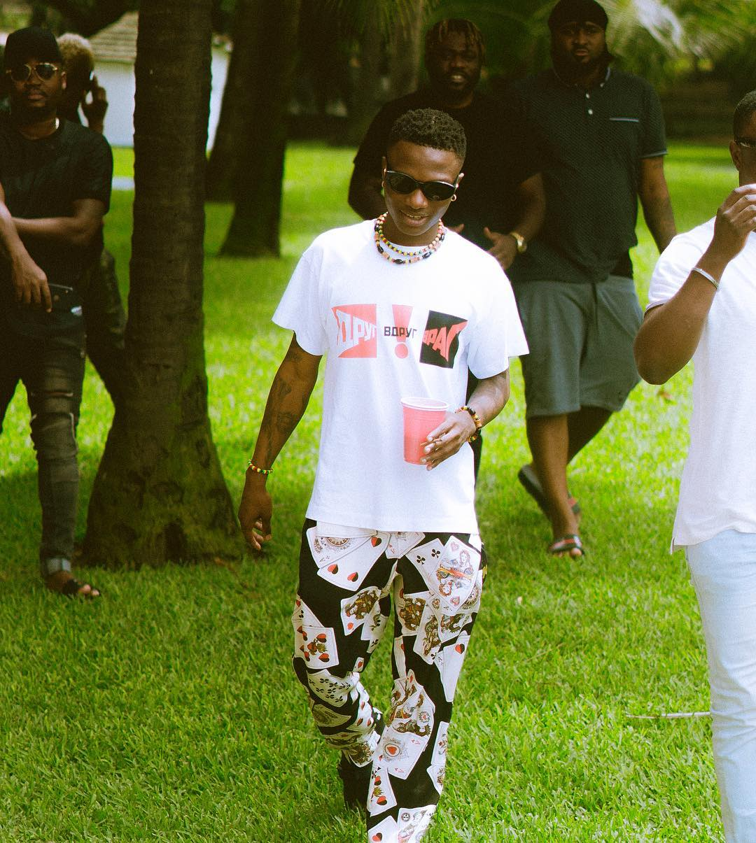 Wizkid Proud to Shows off His Son Zion Balogun as he Now Walk