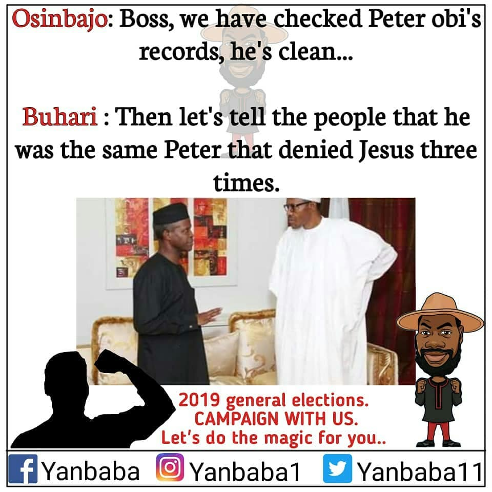 Election is almost here just few months to go and here are some meme collections that can ease away your worst feel for this present buhari led