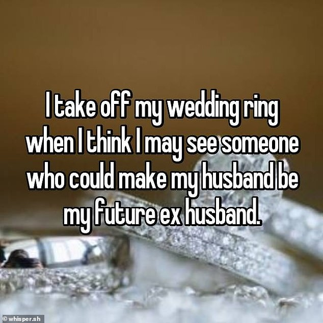 My Husband Never Wears His Wedding Ring