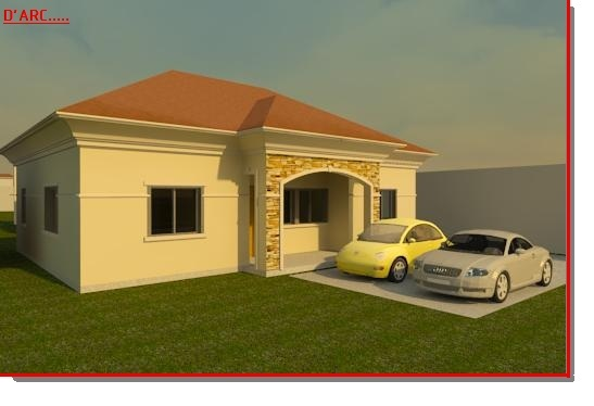 3 Bedroom Bungalow Designed For A Fellow NLder
