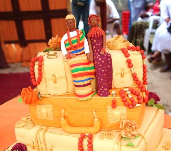 beautiful nigerian traditional wedding cakes traditional wedding cakes food nigeria 11209