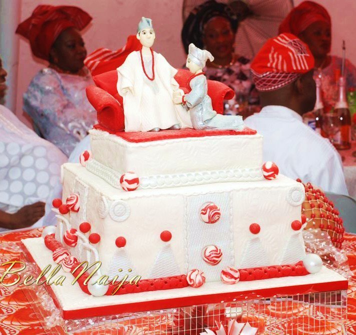 Nigerian Traditional Wedding Cakes