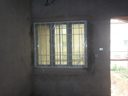 Buildng a block of 4 flat as a framed structure pix cost for Nigeria window design