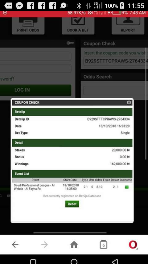 By Photo Congress || Shop Bet9ja Old Mobile Coupon Check