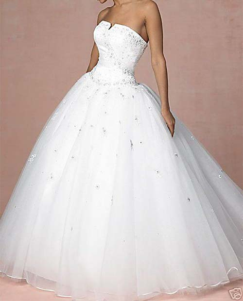 Rent A Gown For Wedding: Rent Fitted Or Ball Wedding Gowns @ N15000