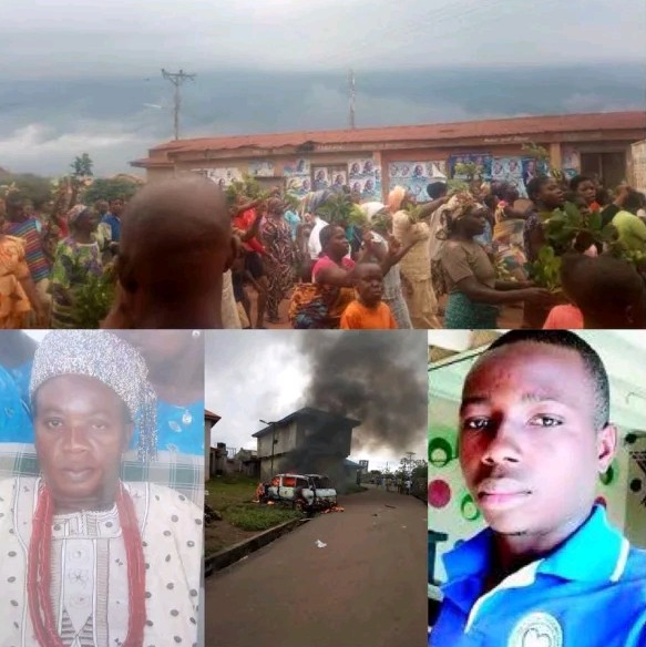 Residents Chase Ekiti King Away For Abetting Cultism In The Community
