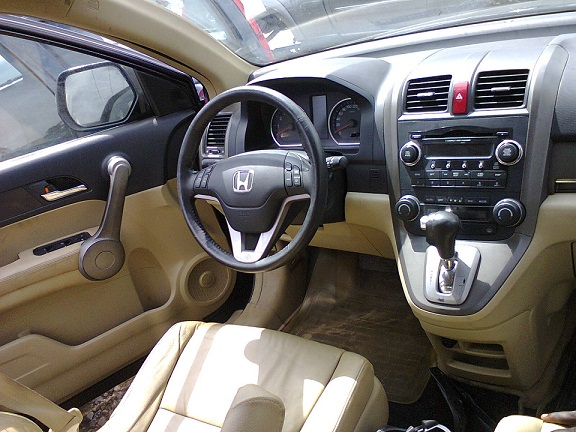 2008 Honda Crv Super Clean Leather Interior Autos Nigeria