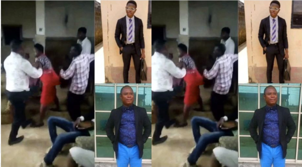 School Owner Beats Ex-Employee Demanding His Salary (Photos)