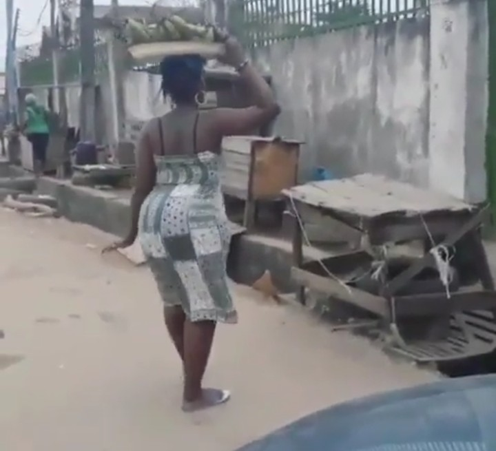 Image result for big booty lady hawking plantain