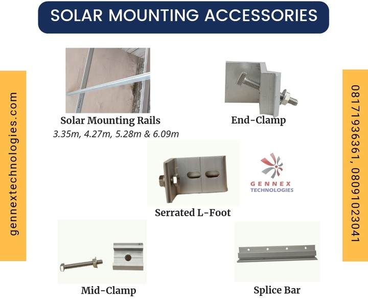 Solar Panel Mounting Accessories At Best Prices - Technology Market