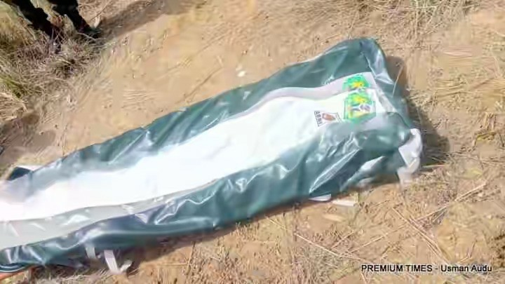 Pictures Of General Alkali Dead Body Found By The Nigerian Army