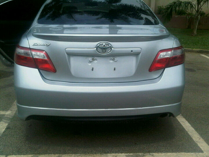 very clean tokunbo toyota camry 2008 model autos nigeria. Black Bedroom Furniture Sets. Home Design Ideas