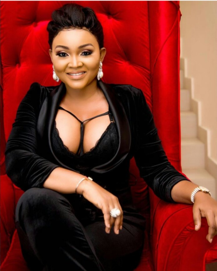 Image result for 2016 Africa Magic Viewers Choice Awards, Mercy Aigbe's dress