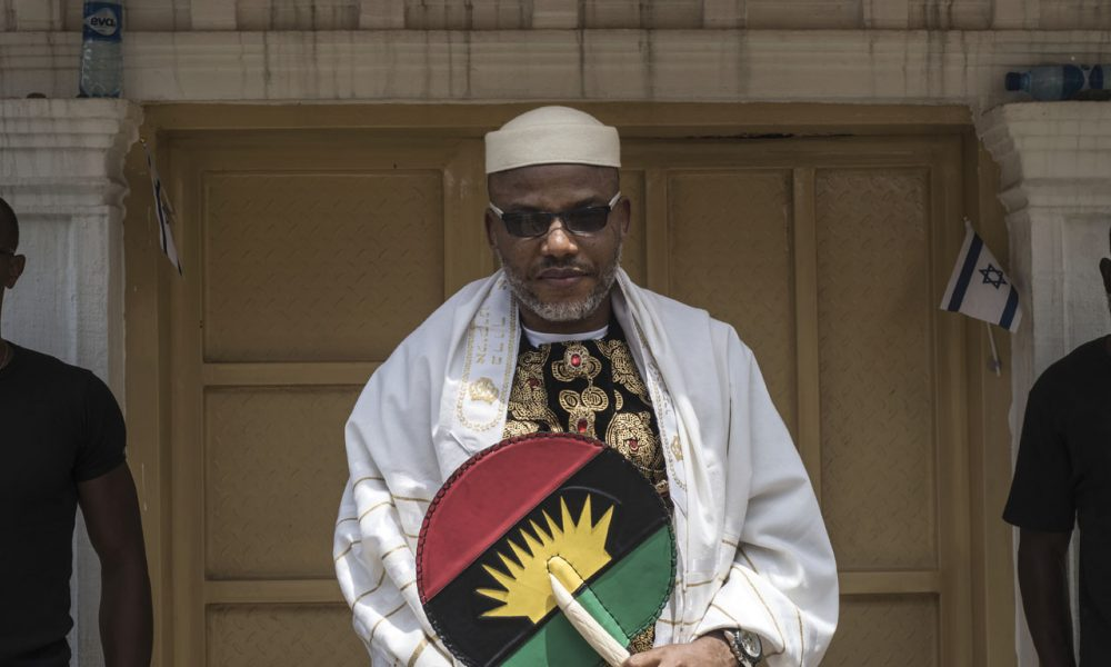 I Have Spies, Informants In Aso Rock - Nnamdi Kanu