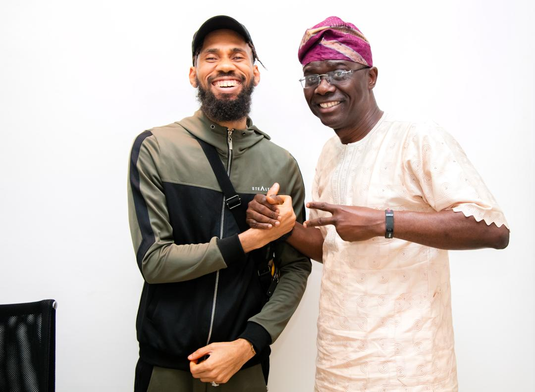 Rapper, Phyno Spotted With Babajide Sanwoolu - Politics - Nigeria
