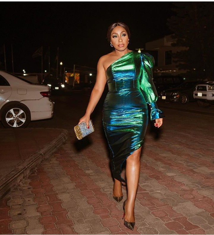 young Forever: Actress Rita Dominic Steps Out For AFRIFF Looking Gorgeous (Photo) 1