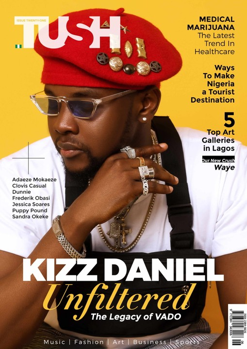 Kizz Daniel Rocks The Cover Page Of TushMagazine's 21st Issue (photos) 2