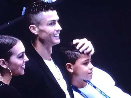 Cristiano Ronaldo In Embarrassing Blunder At ATP Finals (Photos)