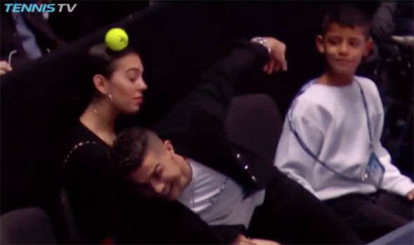 Cristiano Ronaldo In Embarrassing Blunder At ATP Finals ...