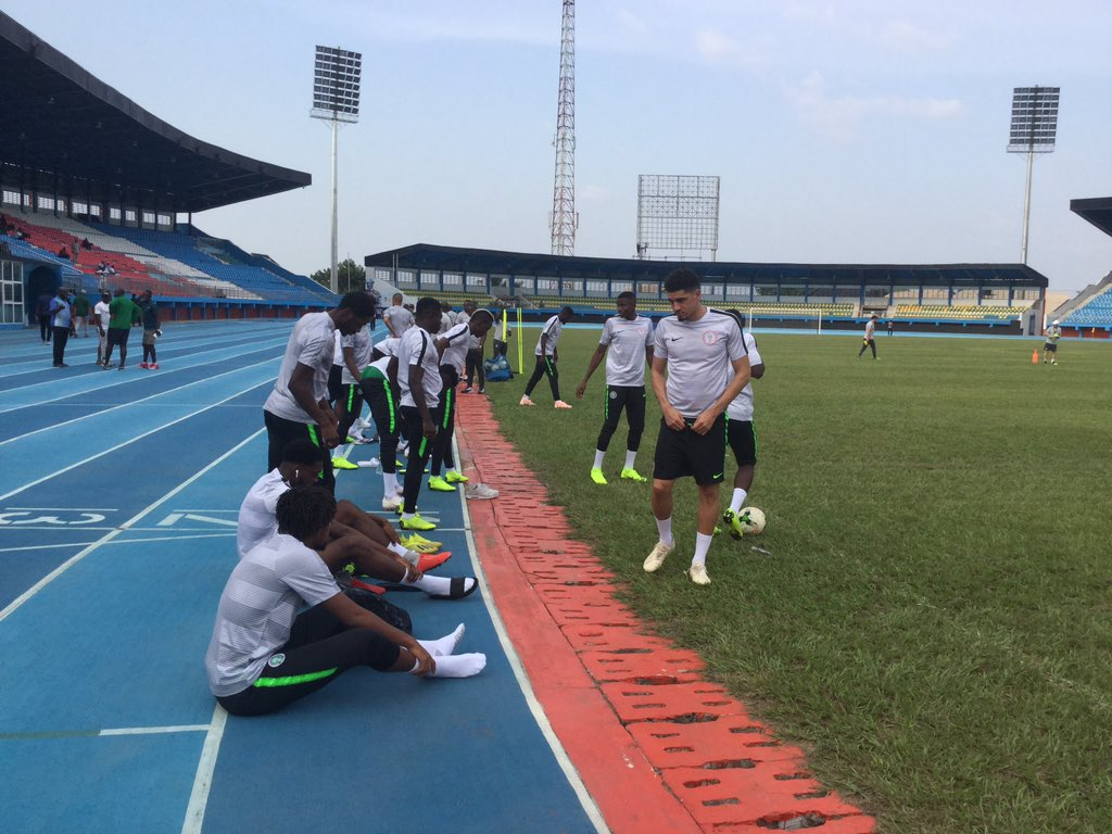 Check out Super Eagles Training In Asaba Ahead Of South Africa Clash (Photos)⚽ 2