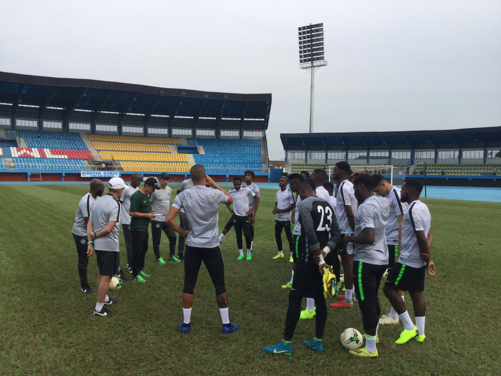 Check out Super Eagles Training In Asaba Ahead Of South Africa Clash (Photos)⚽ 3