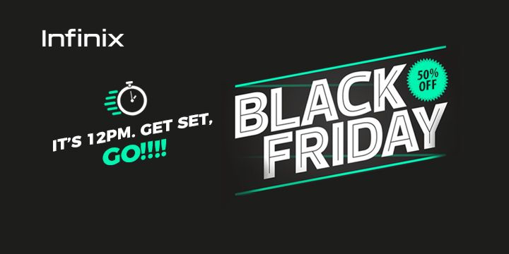Get Up To 50% Discounts On Infinix Black Friday Offer Tomorrow