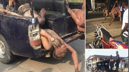 Armed Robbers Gunned Down After Being Traced To A Brothel In Delta