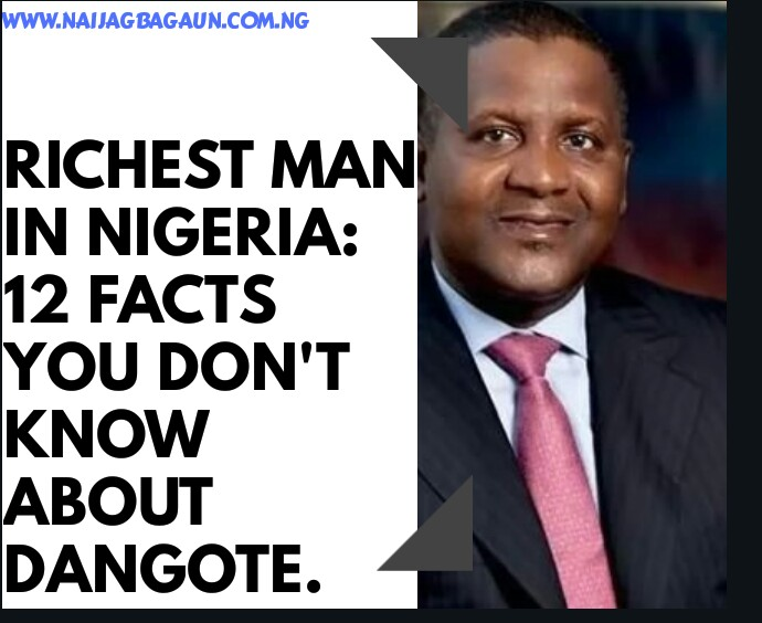 The Richest Man In Nigeria - 15 Facts You Don't Know About Aliko