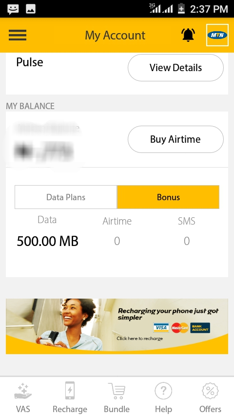 MTN Is Giving Free 500MB Data To All Its Users - Webmasters - Nigeria