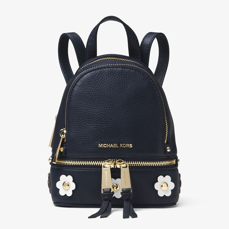 4c11b6472bee More styles please click : http://www.mkoutletfire.com/michael-michael-kors- rhea-mini-floral-applique-leather-backpack-red.html