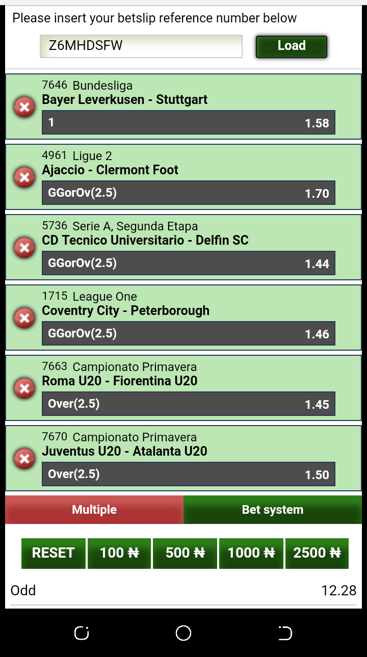 Daily Bet Prediction Channel      2 - 10 Odds Daily - Sports - Nigeria