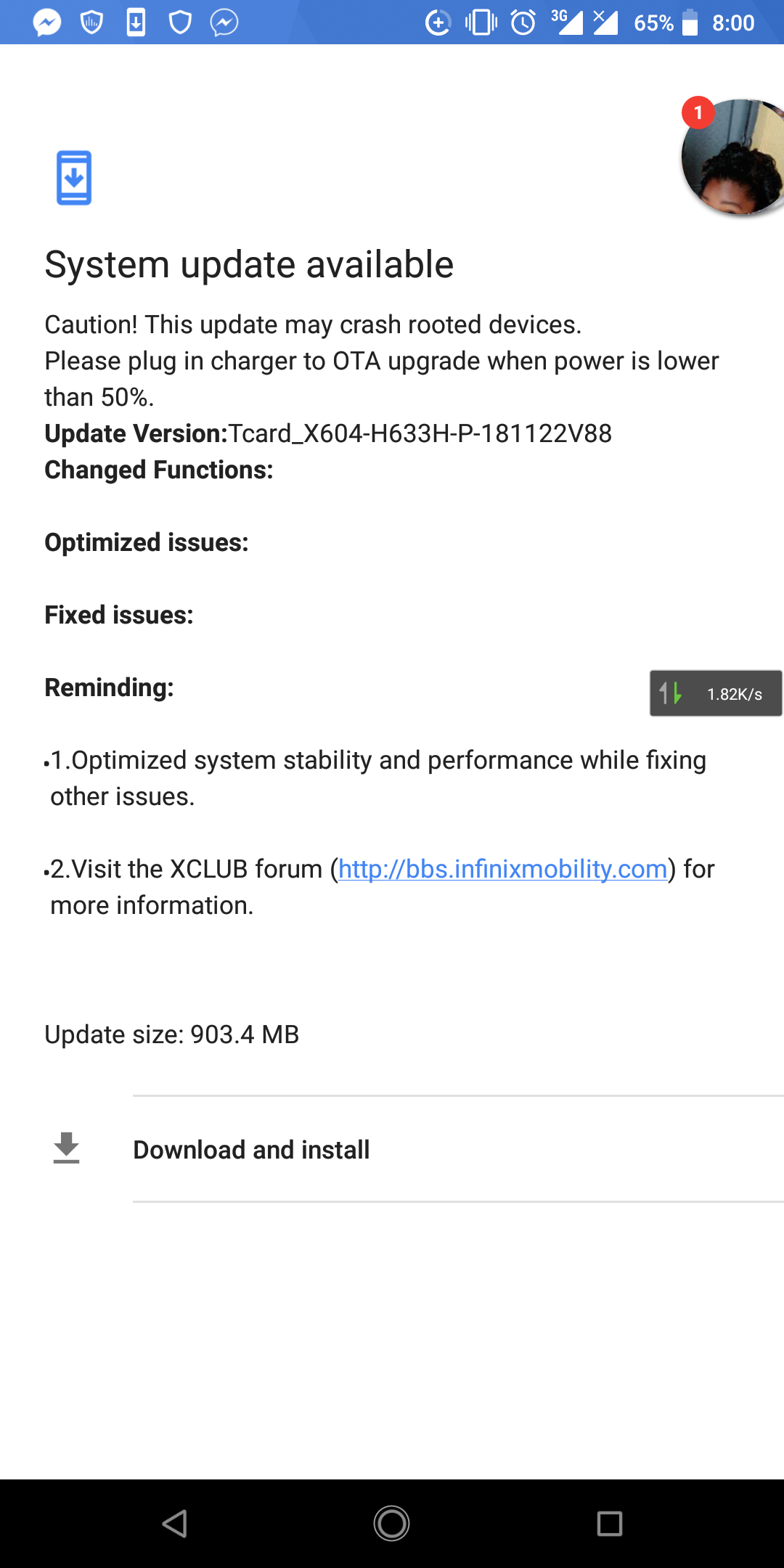 Guys Infinix Has Released Android 9 Update To Note 5 Users