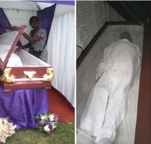Man Buries Wood Instead Of His Brother's Corpse In Anambra