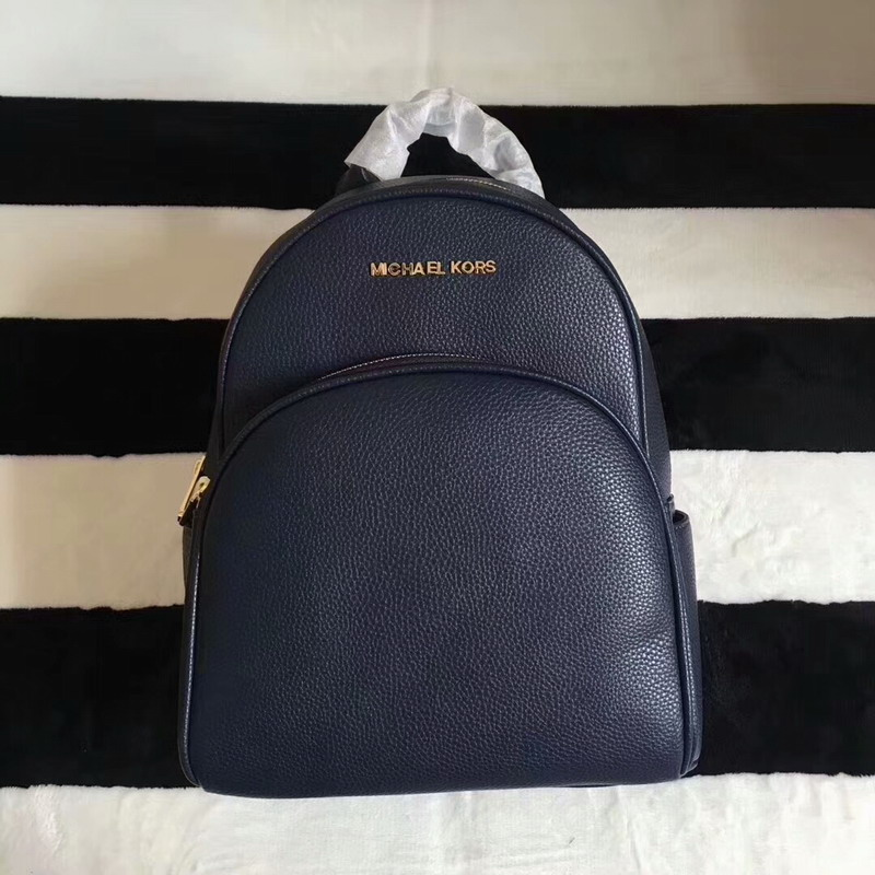 469ecb6be064 More styles please click   http   www.mkoutletfire.com michael-michael-kors- abbey-leather-backpack-navy-blue.html