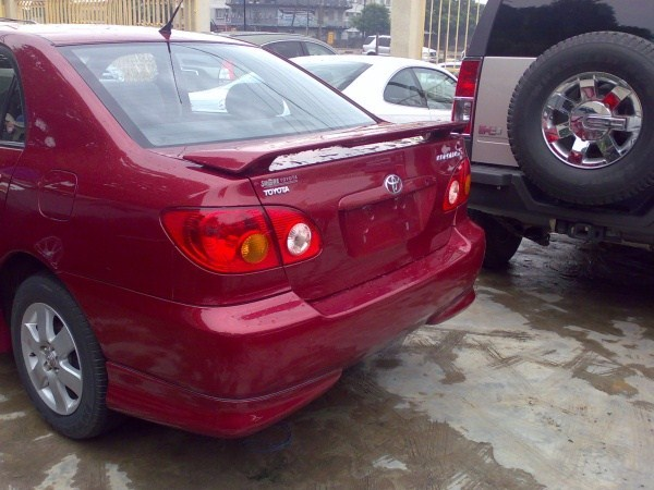 2005 Toyota Corolla S Model Any Scratch Attracts 100k
