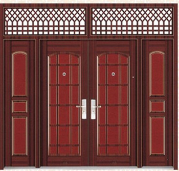 Steel security doors armored doors turkey doors wooden for Door design nigeria
