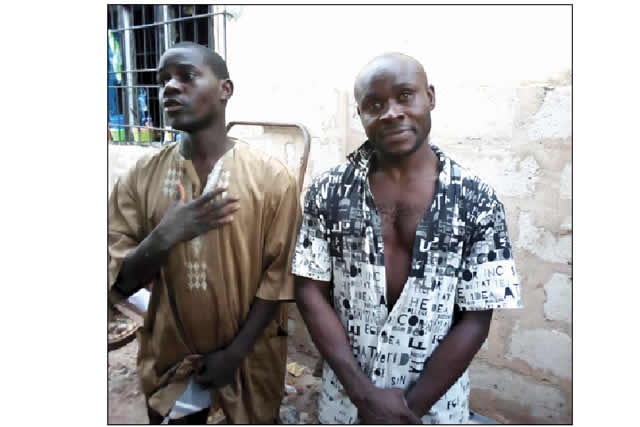 Image result for Kidnapper Receiving Treatment For Gunshot Injuries On Private Part Arrested In Imo.