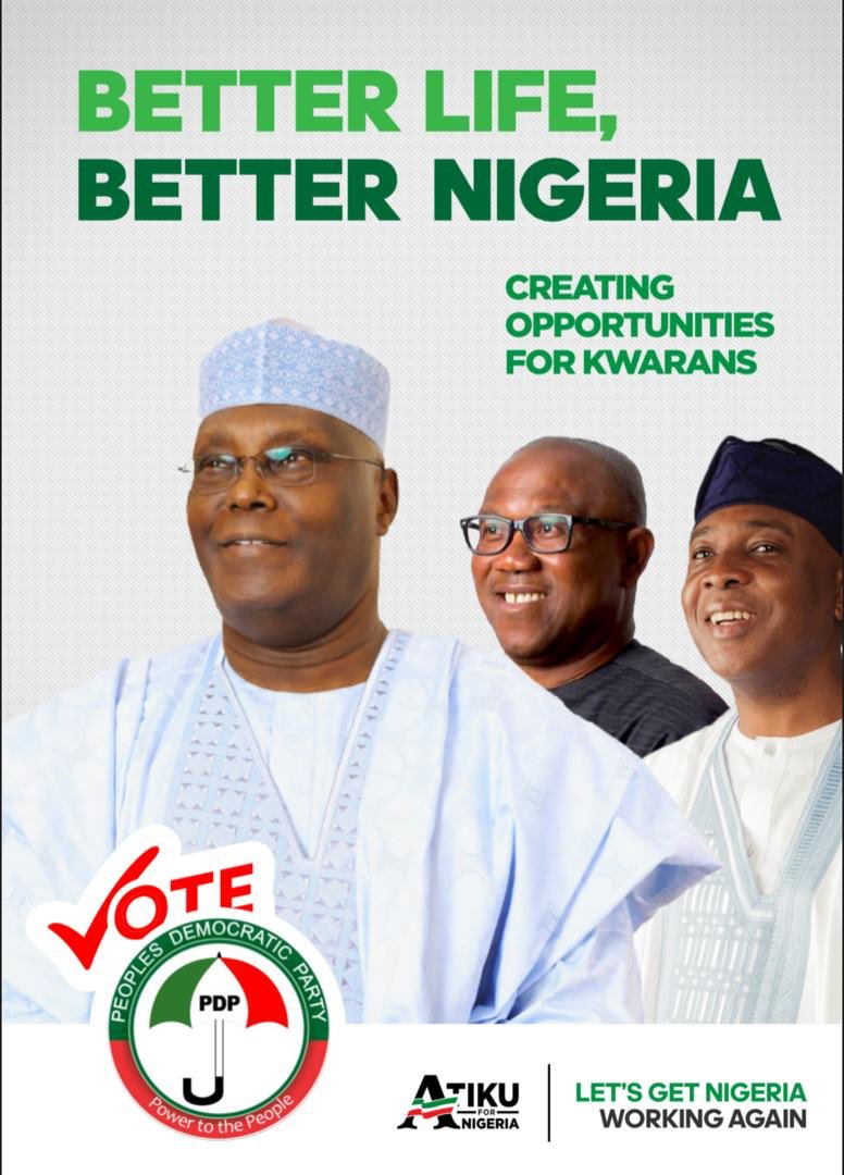 2019: PDP Storms Kwara For North Central Rally Today 5th Dec