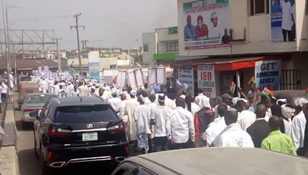 Police Arrest 51 As 'jewish Worshippers' Protest In Abia