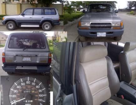 1991 Toyota Land Cruiser 4x4 4door Wagon Price Reduced ₦