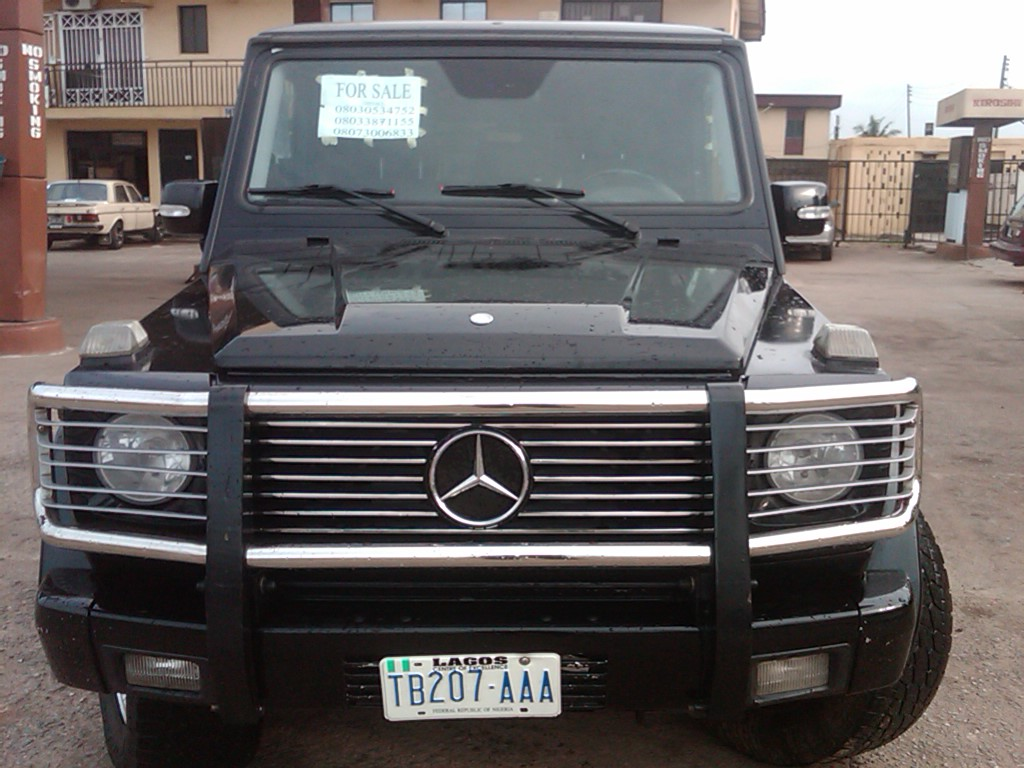 a sharp naija used 2003 mercedes benz g500 g wagon for. Black Bedroom Furniture Sets. Home Design Ideas