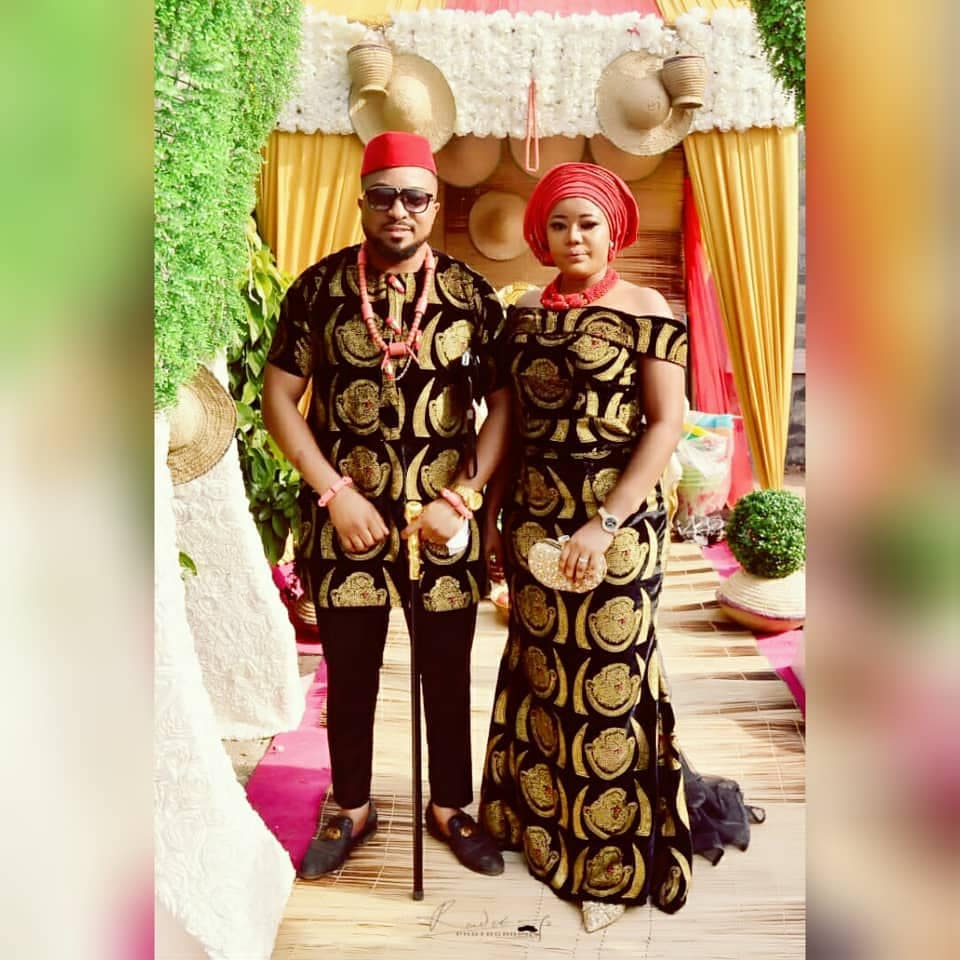 Collins Ejike Traditional And White Wedding Photos