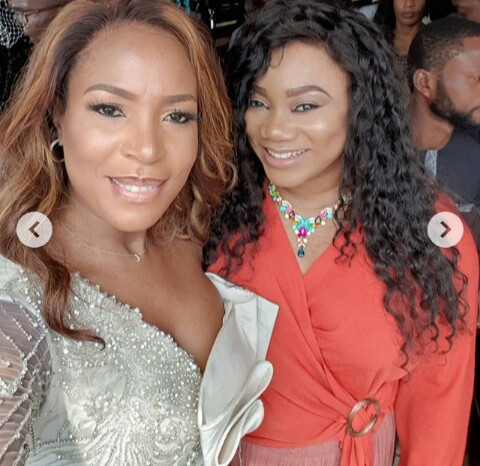Image result for Photos from Linda Ikeji's Son's Thanksgiving Service
