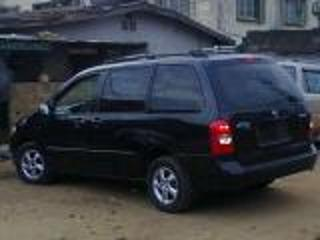 Very Neat Tincan Cleared American Mazda Mpv 2000 Black Color Automatic 7 Seaters Aloy Wheels Factory Ed Ac Goes For 1 4m Location Uyo