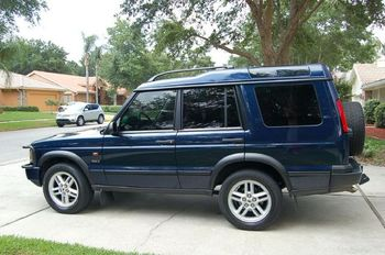 2003 land rover discovery se7 sweet pristine clean navy blue on black autos nigeria. Black Bedroom Furniture Sets. Home Design Ideas