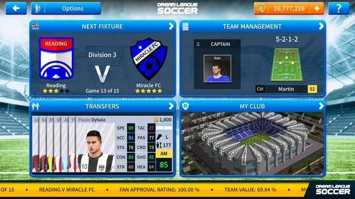 Dream League Soccer 2019 (DLS 19) Mod Apk + OBB Data For