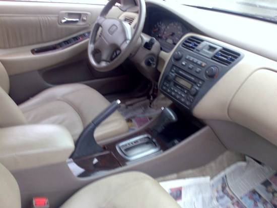 2002 Honda Accord Ex ( Babyboy ) Leather, I4. Simply Impeccable.   Autos    Nairaland