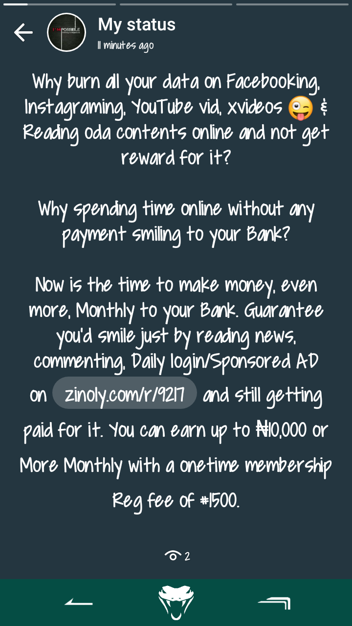 Earn 600 To 1000 Naira Daily - Investment - Nigeria