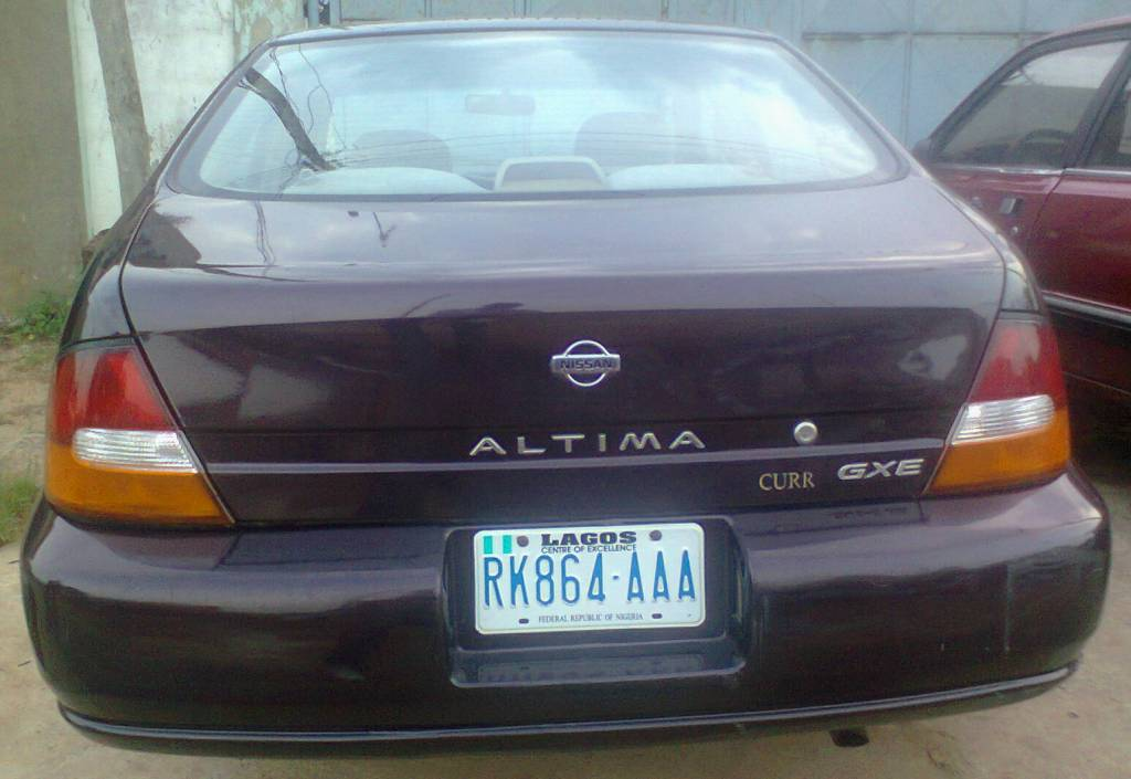 nissan altima 1998 manual